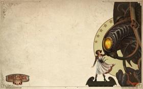 Обои BioShock, Infinite, Элизабет