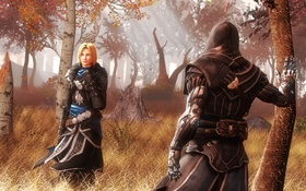 Картинка лес, Assassin's Creed, fan art