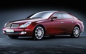 Обои мерседес, C219, Mercedes-Benz, CLS-Class
