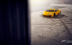 Обои Lamborghini, One, 360, Yellow, Xbox, Game, Forza