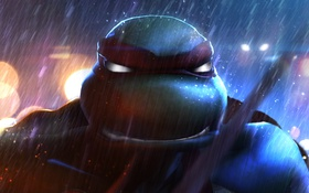 Обои Teenage Mutant Ninja Turtles, raphael, tmnt