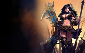 Картинка LoL, League of Legends, Sivir, girl
