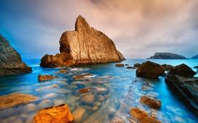 Обои море, скалы, берег