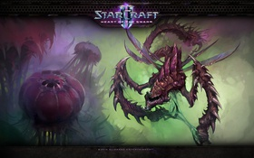 Обои Viper, StarCraft 2, Зерги, Heart of the Swarm