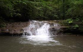 Картинка вода, природа, водопад, красота