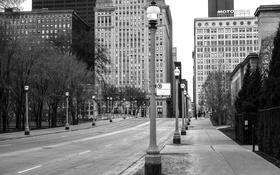 Обои Чикаго, Небоскребы, Здания, США, Америка, Иллинойс, Chicago
