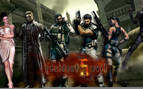 Картинка P30, game, bulletproof vest, Resident Evil 5, Sheva, powerful, Resident Evil 5 Gold Edition