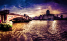 Обои город, London, Blackfriars Bridge