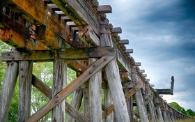 Картинка Old, railway, track