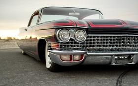 Обои фары, Cadillac, 1960, передок