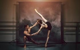 Обои танец, пара, балет, Royal Winnipeg Ballet