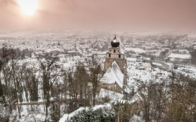 Обои Winter, Baden-Württemberg, Herrenberg