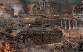 Картинка танк, СССР, танки, WoT, Мир танков, tank, World of Tanks