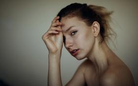 Картинка Sarah, губки, прелесть, боке, Jesse Herzog