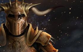 Обои шлем, dragon age, Dragon Age: Origins, Darkspawn, Hurlock vanguard