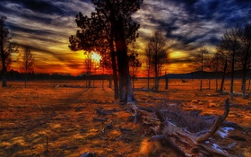 Картинка пейзаж, sunset, Mountain