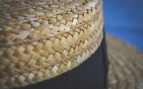 Обои шляпа, шляпка, плетение, плетеная