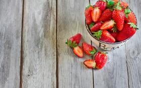 Обои ягоды, клубника, bowl, strawberry, миска