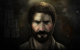 Картинка The Last of Us, Naughty Dog, Joel, лицо, ps3