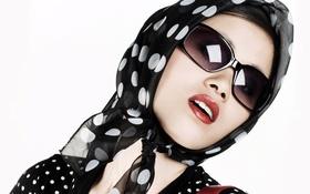 Картинка девушка, секси, очки