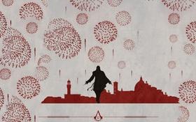 Обои Italy, art, Assassin's Creed 2, Ezio Auditore