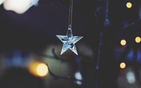 Обои звезда, украшение, подвеска