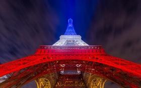 Картинка город, Париж, башня
