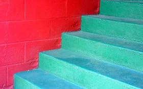 Картинка краска, стена, текстура, ступени, цвет
