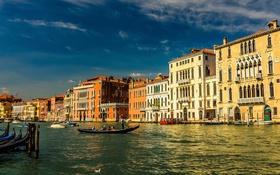 Обои Италия, Венеция, большой канал