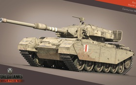 Обои tank, Centurion Mk. 3, United Kingdom, танк, Великобритания, танки, World of Tanks