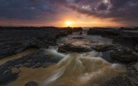 Обои Light, Darkness, Australia, Gold Coast, Qld