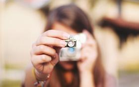 Обои камера, фотоаппарат, кулон