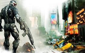 Картинка Crysis, Crysis 2, PS3, Xbox 360