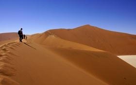 Обои people, heat, wilderness expedition