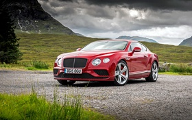 Обои Bentley, Continental, Speed, бентли, континенталь, 2015