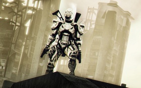 Обои armor, Vanquish, helmet, Sam Gideon, Platinum Games, Sega, Shinji Mikami