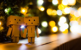 Обои Light, Danbo, Night