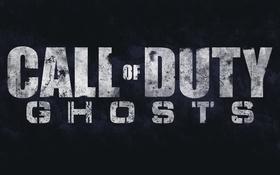 Картинка Logo, Fan Art, Call of Duty: Ghosts