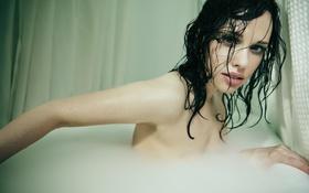 Обои актриса, ванна, Alex Appel