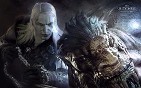 Картинка медальон, Ведьмак, Геральт, game wallpapers, The witcher, RPG