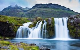 Обои вода, Водопад