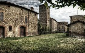 Обои Montegibbio Castle, здание, Castello di Montegibbio