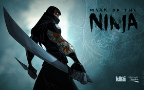 Картинка игры, меч, тату, кинжал, ниндзя, ninja, klei