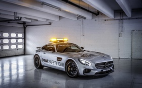 Обои Mercedes, мерседес, AMG, DTM, Safety Car, 2015, GT S