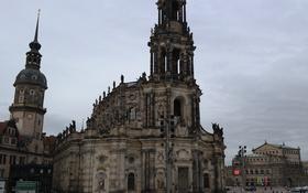 Картинка Германия, Дрезден, Кафедральный собор, оперный театр, Хофкирхе, придворная церковь