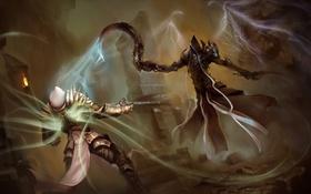 Картинка archangel, diablo 3, tyrael, Angel of Death, reaper of souls, malthael, Diablo 3: Reaper of ...