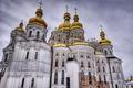 Картинка church, construction, Monastery of the caves in Kiev
