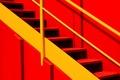 Картинка металл, краски, лестница, ступени