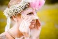 Картинка девушка, маска, фотограф, photography, photographer, Владимир Смит, Vladimir Smith