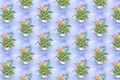 Картинка цветы, фон, букет, текстура, арт